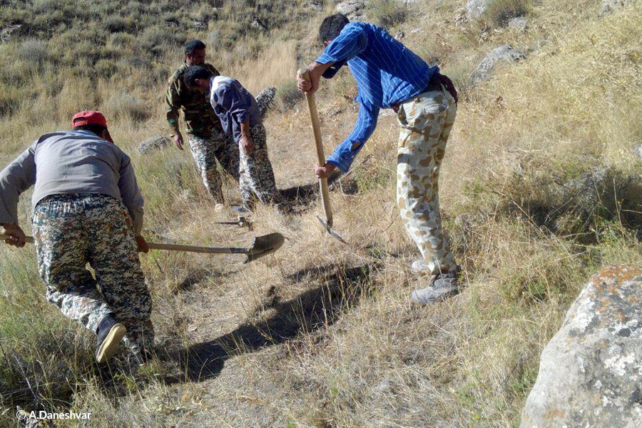 Trails for rangers to stop poachers