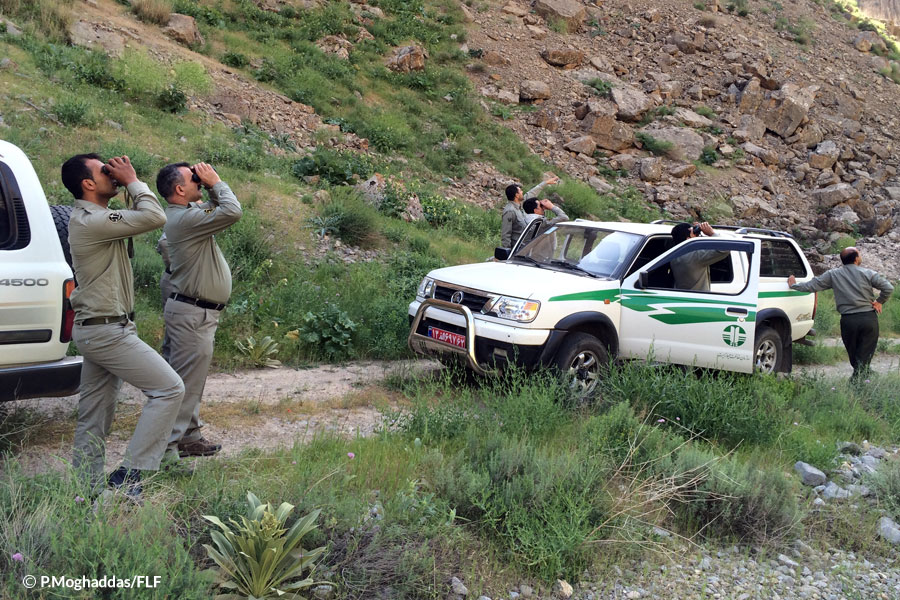 Training tour for anti-poaching units